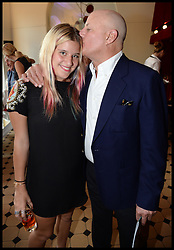 Ronald O.Perelman with his daughter Caleigh attend the National Youth Orchestra of The United States of America Reception at the <br /> The Royal Albert Hall hosted by Ronald O.Perelman, London, United Kingdom,<br /> Sunday, 21st July 2013<br /> Picture by Andrew Parsons / i-Images