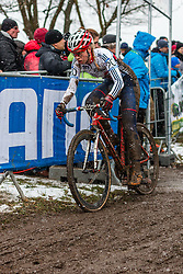 Amira Mellot (GBR), Women Elite, Cyclo-cross World Championships Tabor, Czech Republic, 31 January 2015, Photo by Pim Nijland / PelotonPhotos.com