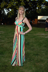 JADE PARFITT at the annual Serpentine Gallery Summer Party in association with Swarovski held at the gallery, Kensington Gardens, London on 11th July 2007.<br />