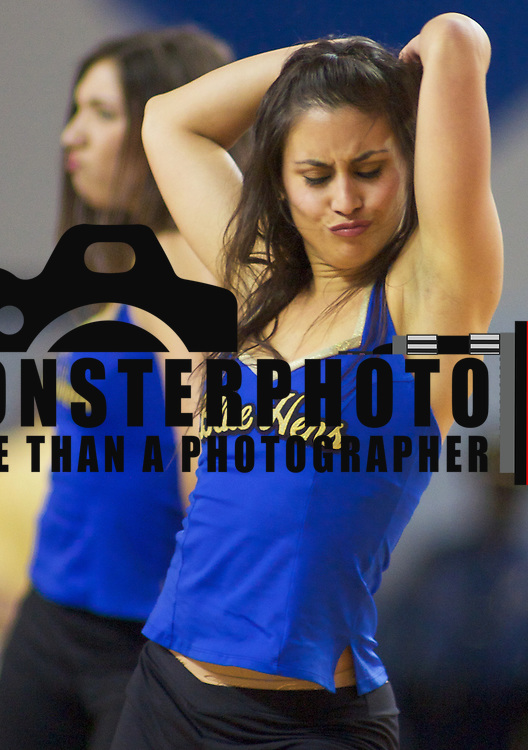 The University of Delaware Dance team.The Lady Blue Hens Defeated The Lady Red Flash of St. Francis 68-52 at the The Bob Carpenter Center In Newark...The Lady Hens are 4-0 and will face La Salle Next...