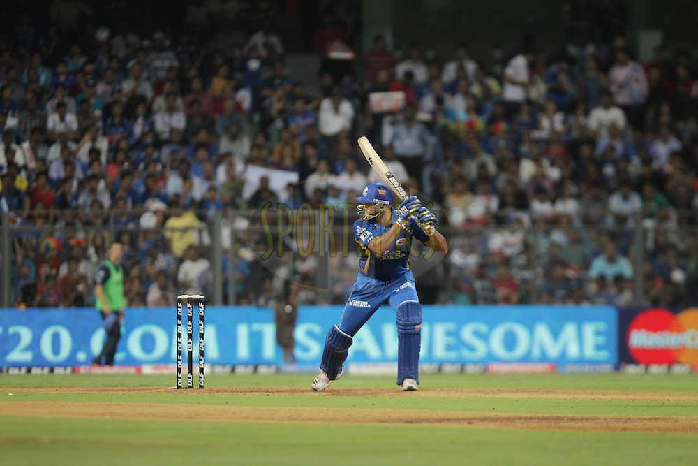 during match 59 of the the Indian Premier League ( IPL ) Season 4 between the Mumbai Indians and the Deccan Chargers held at the Wankhede Stadium, Mumbai, India on the 14th May 2011..Photo by BCCI/SPORTZPICS.