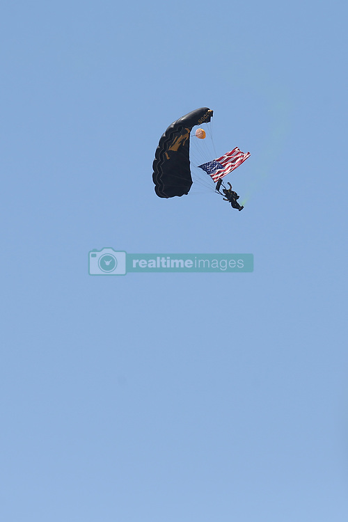May 4, 2019 - Fort Lauderdale, Florida, United States Of America - FORT LAUDERDALE, FL - MAY 04: SOCOM Para-Commandos performs in the Fort Lauderdale Air Show on May 4, 2019 in Fort Lauderdale, Florida...People:  SOCOM Para-Commandos. (Credit Image: © SMG via ZUMA Wire)