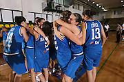 DESCRIZIONE : Chieti U20 European Championship Women Preliminary Round France Italy<br /> GIOCATORE : Team Italy<br /> SQUADRA : Italy <br /> EVENTO : Chieti U20 European Championship Women Preliminary Round France Italy Campionato Europeo Femminile Under 20 Preliminari Francia Italia <br /> GARA : Italy Latvia <br /> DATA : 11/07/2008 <br /> CATEGORIA : esultanza<br /> SPORT : Pallacanestro <br /> AUTORE : Agenzia Ciamillo-Castoria/M.Marchi<br /> Galleria : Europeo Under 20 Femminile <br /> Fotonotizia : Chieti U20 European Championship Women Preliminary Round France Italy <br /> Predefinita :