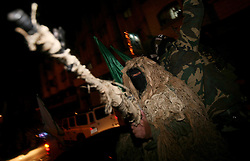 ©Licensed to London News Pictures. 27/12/2011, Gaza. .Hamas militants take part in a military parade in Gaza City December 27, 2011, to mark the third anniversary of the Israeli war on Gaza.  . Photo Credit:Ali Jadallah /PNC/LNP