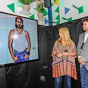 NLD/Amsterdam/20150420 - Presentatie L'Homo 2015, Linda de Mol en Rick Brandsteder