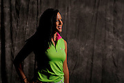 Elena Robles during  portrait session prior to the second stage of LPGA Qualifying School at the Plantation Golf and Country Club on Oct. 6, 2013 in Vience, Florida. <br /> <br /> <br /> ©2013 Scott A. Miller