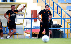 Hull City manager Leonid Slutsky - Mandatory by-line: Robbie Stephenson/JMP - 18/07/2017 - FOOTBALL - Estadio da Nora - Albufeira,  - Hull City v Bristol Rovers - Pre-season friendly