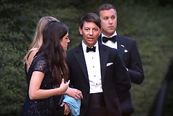 © Licensed to London News Pictures. 04/06/2019. London, UK. Guests leave Winfield House, the US ambassador's residence in Regent's Park,  after a dinner hosted by US President Donald Trump and First Lady Melania Trump bringing a  conclusion to day 2 of the state visit to the UK.   Photo credit: Guilhem Baker/LNP