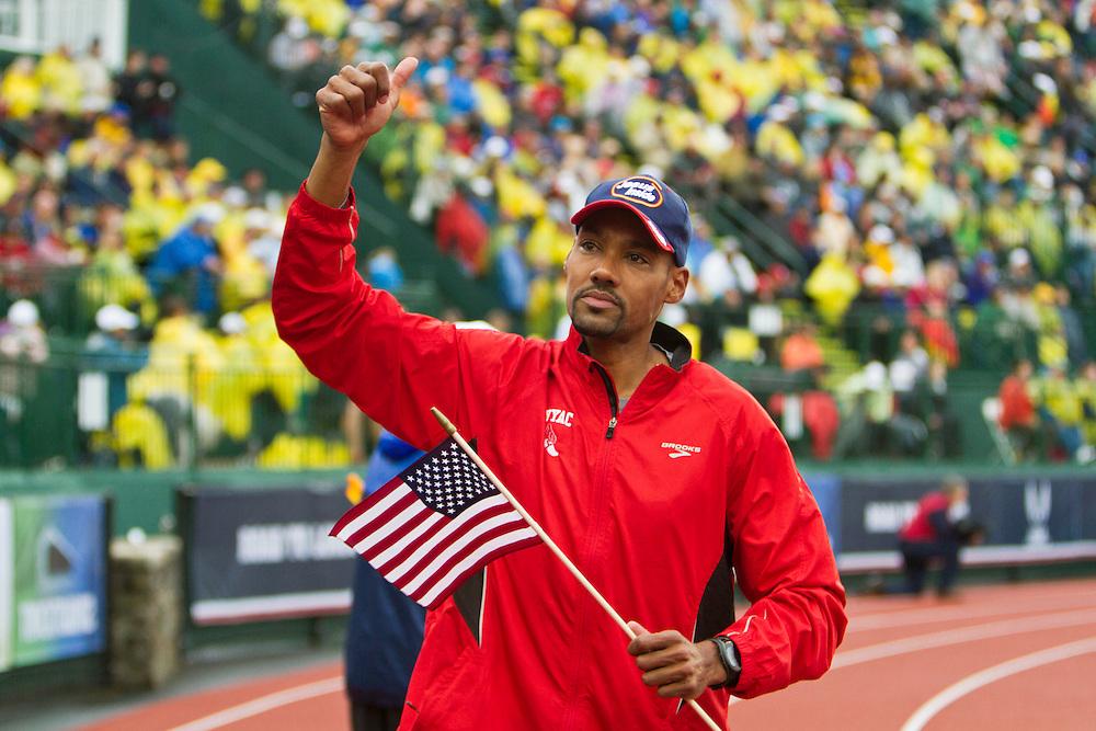 men's high jump top three finishers, Jamie Nieto