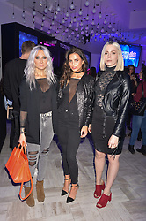 Lou Teasdale, Sophie Smith, Gemma Styles at the Tezenis Store Relaunch, 266-270 Regent Street, London England. 13 December 2016.