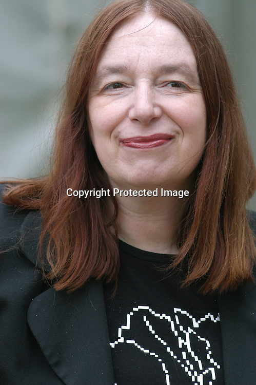 British writer Alison Weir, author of several historical novels, at the Edinburgh International Book Festival 2003.<br /> <br /> Copyright Pascal Saez<br /> Pascal saez / Writer Pictures