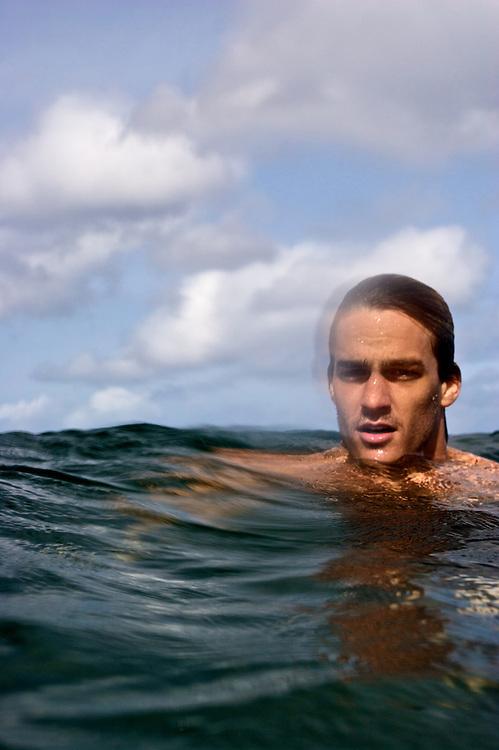 bodysurfing,Hawaii,pipeline,North-shore,Oahu,water-shot,Fred David.