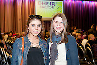 Ciara and Aebhín Sherridan from Connemara at the Radisson Blu Hotel for Galway 1st ever Choir Factor in aid of Kilcuan Retreat and Healing Centre in Clarinbridge, Co. Galway. The event organised by the Corrib Lions Club was won by the Marine Institute Choir directed by Carmel Dooley. Picture:Andrew Downes
