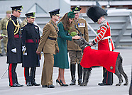 KATE Hands Out Shamrock On St Patrick's Day