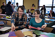 Students in Anita Toronyi's University of Windsor Department of Languages German class are taught with a high energy and interactive method.