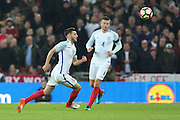 England Adam Lallana during the FIFA World Cup Qualifier group stage match between England and Scotland at Wembley Stadium, London, England on 11 November 2016. Photo by Phil Duncan.