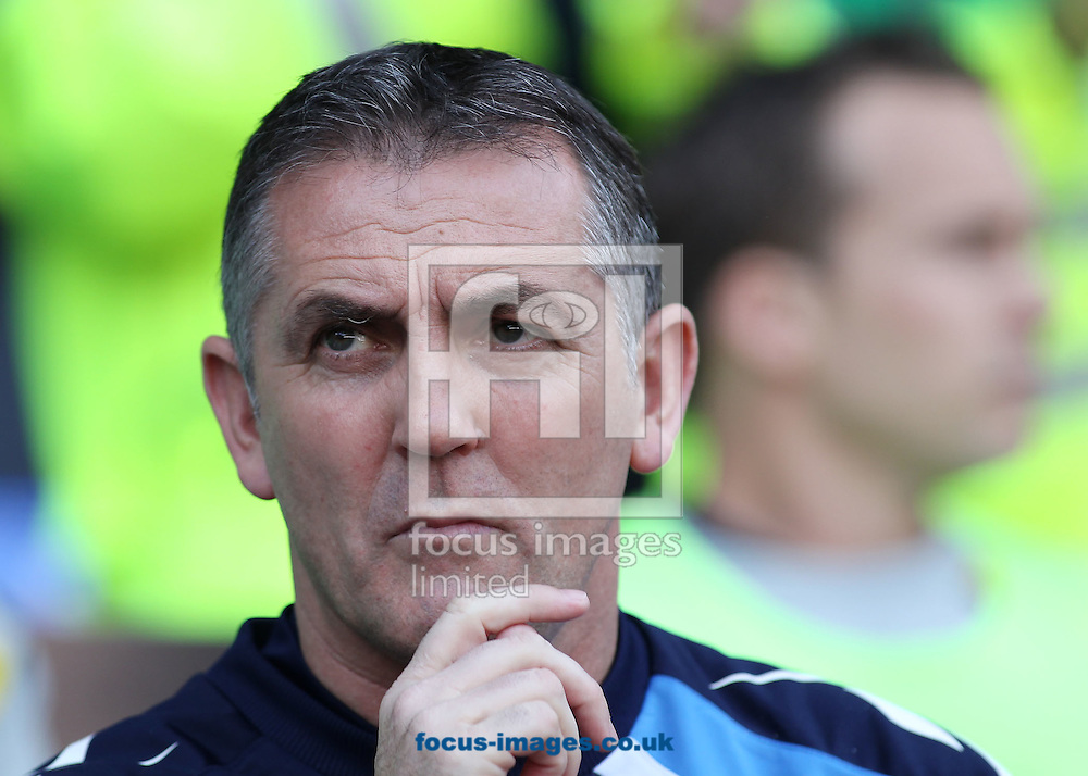Picture by MIchael Sedgwick/Focus Images Ltd. 07900 363072.24/03/12.Owen Coyle, manager of Bolton Wanderers prior to the Barclays Premier League match against Blackburn Rovers at the Reebok Stadium, Bolton.