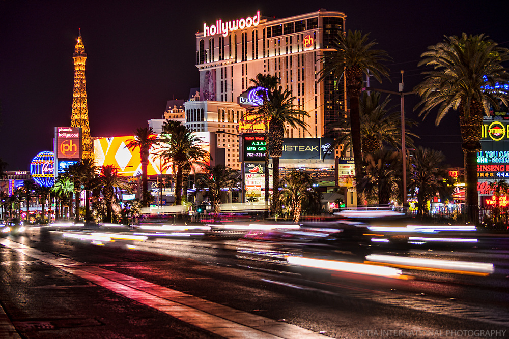 The Paris & Planet Hollywood Hotels, Las Vegas Boulevard