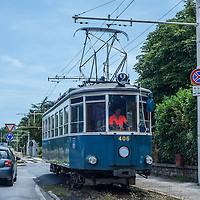 The Trieste–Opicina tramway (Italian: Tranvia Trieste-Opicina) is an unusual hybrid tramway and funicular railway in the city of Trieste, Italy.