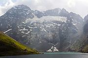 Harmukh Mountain, Ganderbal District, Kashmir Valley, Northern India 2009-07-12.<br />