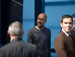 Manchester City manager Pep Guardiola - Mandatory by-line: Jack Phillips/JMP - 20/04/2019 - FOOTBALL - Etihad Stadium - Manchester, England - Manchester City v Tottenham Hotspur - English Premier League