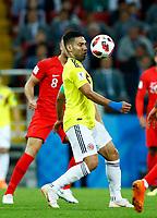 Radamel Falcao (Colombia) <br /> Moscow 03-07-2018 Football FIFA World Cup Russia 2018 <br /> Colombia - England / Colombia - Inghilterra<br /> Foto Matteo Ciambelli/Insidefoto