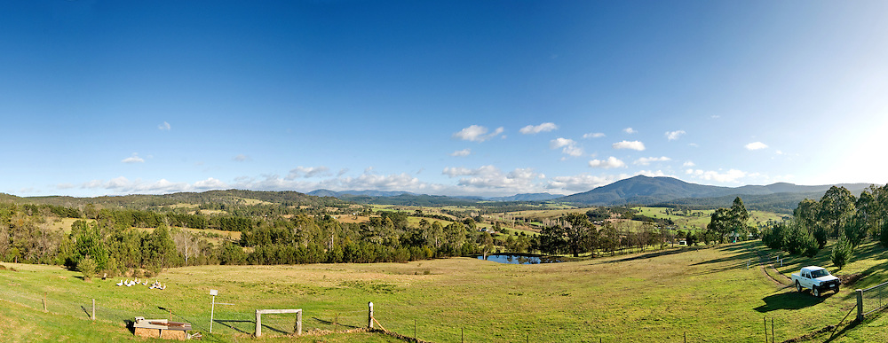 Farm in Towamba in rural New South Wales, Australia