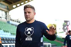 Ian Madigan and the rest of the Bristol Bears team arrive at the Stoop - Mandatory byline: Patrick Khachfe/JMP - 07966 386802 - 20/09/2019 - RUGBY UNION - The Twickenham Stoop - London, England - Harlequins v Bristol Bears - Premiership Rugby Cup