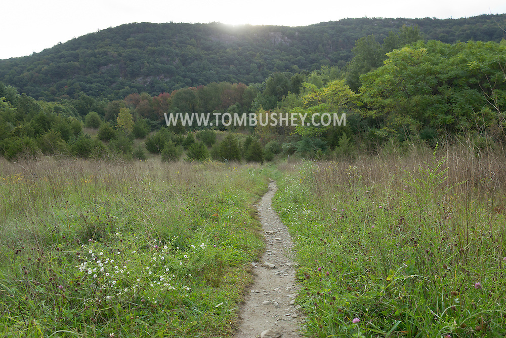 Vernon, New Jersey - A view of the Appalachian Trail leading to Wawayanda Mountain on Sept. 22, 2012.