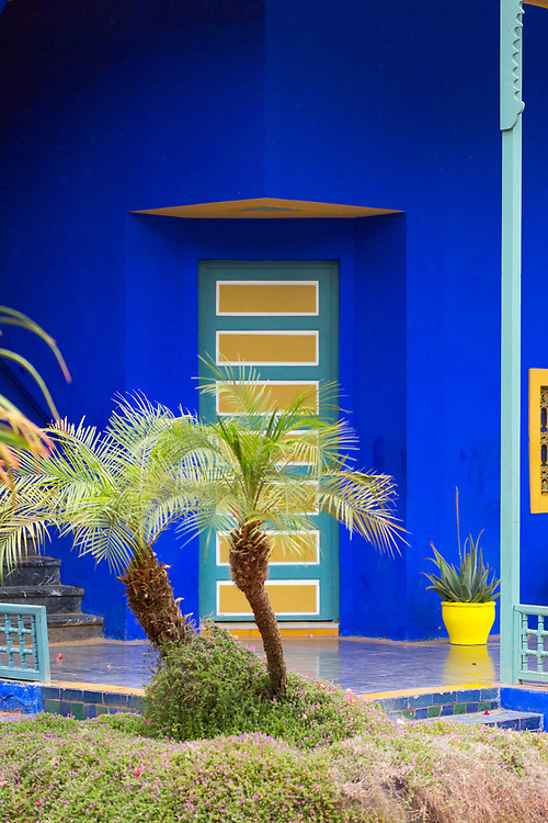 Majorelle Gardens, Marrakesh, Southern Morocco, 2016-04-19. <br />
