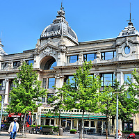 Grand Bazar Now Hilton Hotel in Antwerp, Belgium <br />