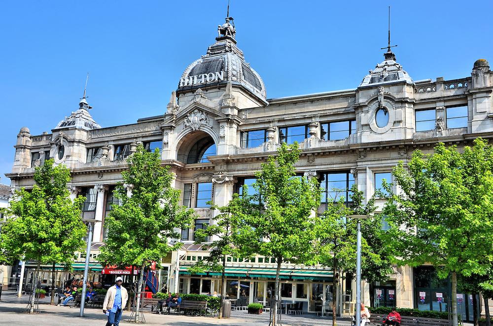 grand bazar now hilton hotel in antwerp belgium encircle photos. Black Bedroom Furniture Sets. Home Design Ideas