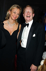 The EARL & COUNTESS OF DERBY at the Cartier Racing Awards held at the Four Seasons Hotel, Hamilton Place, London W1 on 16th November 2005.<br />