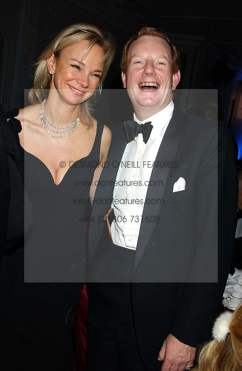 The EARL &amp; COUNTESS OF DERBY at the Cartier Racing Awards held at the Four Seasons Hotel, Hamilton Place, London W1 on 16th November 2005.<br /><br />NON EXCLUSIVE - WORLD RIGHTS