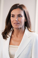 Queen Letizia of Spain attends Meeting with the Foundation for Help Against Drug Addiction (FAD)  at Boston Consulting Group on May 16, 2019 in Madrid, Spain