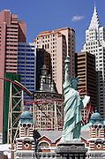 "US-LAS VEGAS: Hotel New York New York on Las Vegas Boulevard (""The Strip"")..PHOTO GERRIT DE HEUS"