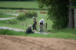Manon Lloyd (GBR) of Drops Cycling Team rides in the prologue of 2019 Festival Elsy Jacobs, a 2.7 km time trial from Kahler to Garnich, Luxembourg on May 10, 2019. Photo by Balint Hamvas/velofocus.com