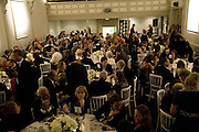 Dinner in aid of 'Action Trust For the Blind organised by Matthew Carr. 20th Century Theatre. Westbourne Gro. London. 26 September 2007. -DO NOT ARCHIVE-© Copyright Photograph by Dafydd Jones. 248 Clapham Rd. London SW9 0PZ. Tel 0207 820 0771. www.dafjones.com.