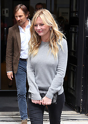 Actress Kirsten Dunst leaving BBC Radio 2 in central London, UK. 14/05/2014<br />
