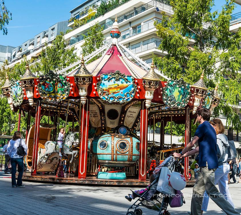 Boulogne-Billancourt, centre ville, rue Le Corbusier