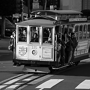 Trolley ride. San Francisco, CA.
