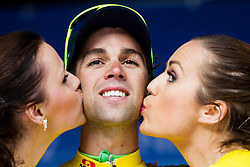 Michael Matthews of Orica GreenEdge in yellow jersey after the Stage 2 of 21st Tour of Slovenia 2014 - cycling race 160,7 km  from Ribnica to Kocevje, on June 20, 2014 in Slovenia. Photo By Vid Ponikvar / Sportida