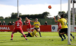 Rosella Ayane of Bristol City Women scores her sides second goal against Oxford United Women - Mandatory by-line: Robbie Stephenson/JMP - 25/06/2016 - FOOTBALL - Stoke Gifford Stadium - Bristol, England - Bristol City Women v Oxford United Women - FA Women's Super League 2
