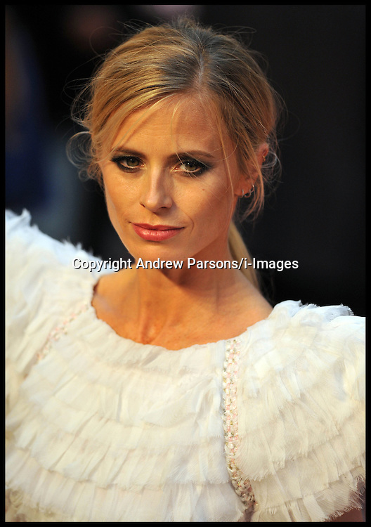Laura Bailey arrives for the - UK film premiere of Anna Karenina, London, Tuesday September 4, 2012 Photo Andrew Parsons/i-Images..All Rights Reserved ©Andrew Parsons/i-Images