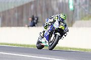 Head down at over 200mph, #35 Cal Crutchlow, British: LCR Honda Castrol during the Italian MotoGP at Autodromo Internazionale, Mugello, Italy on 1 June 2019.