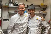 Chef's Massimo Sola and Matteo Calciati