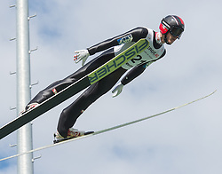 27.09.2015, Energie AG Skisprung Arena, Hinzenbach, AUT, FIS Ski Sprung, Sommer Grand Prix, Hinzenbach, im Bild Philipp Aschenwald (AUT) // during FIS Ski Jumping Summer Grand Prix at the Energie AG Skisprung Arena, Hinzenbach, Austria on 2015/09/27. EXPA Pictures © 2015, PhotoCredit: EXPA/ Reinhard Eisenbauer
