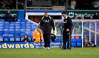 Photo: Leigh Quinnell.<br /> Birmingham City v Newcastle United. The FA Cup. 06/01/2007. Groundsmen dig the pitch before the game. The St.Andrews pitch will be dug up and replaced tomorrow.