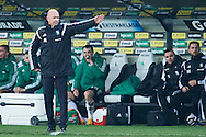 Legia's trainer coach Henning Berg gestures during T-Mobile ExtraLeague soccer match between Legia Warsaw and Wisla Krakow in Warsaw, Poland.<br /> <br /> Poland, Warsaw, March 15, 2015<br /> <br /> Picture also available in RAW (NEF) or TIFF format on special request.<br /> <br /> For editorial use only. Any commercial or promotional use requires permission.<br /> <br /> Mandatory credit:<br /> Photo by © Adam Nurkiewicz / Mediasport