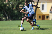 Forest Green Rovers Christian Doidge(9) during the Forest Green Rovers Training session at Browns Sport and Leisure Club, Vilamoura, Portugal on 24 July 2017. Photo by Shane Healey.